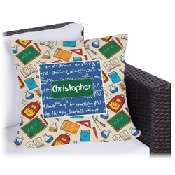 Math Lesson Outdoor Pillow (Personalized)