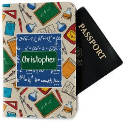 Math Lesson Passport Holder - Fabric (Personalized)
