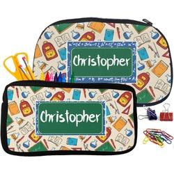 Math Lesson Pencil / School Supplies Bag (Personalized)