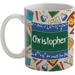 Math Lesson Coffee Mug (Personalized)