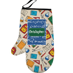 Math Lesson Left Oven Mitt (Personalized)