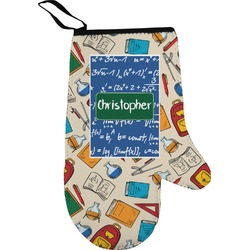 Math Lesson Right Oven Mitt (Personalized)