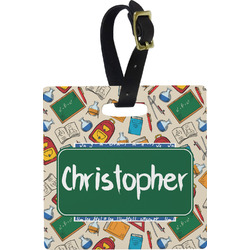 Math Lesson Luggage Tags (Personalized)