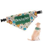 Math Lesson Dog Bandana (Personalized)