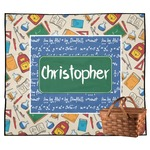 Math Lesson Outdoor Picnic Blanket (Personalized)