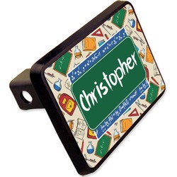 "Math Lesson Rectangular Trailer Hitch Cover - 2"" (Personalized)"