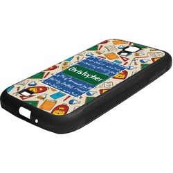 Math Lesson Rubber Samsung Galaxy 4 Phone Case (Personalized)