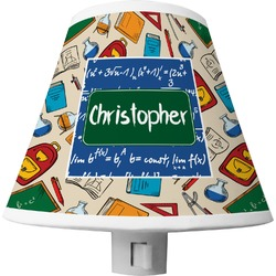 Math Lesson Shade Night Light (Personalized)