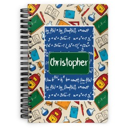 Math Lesson Spiral Bound Notebook (Personalized)