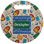 Math Lesson Stadium Cushion (Round) (Personalized)