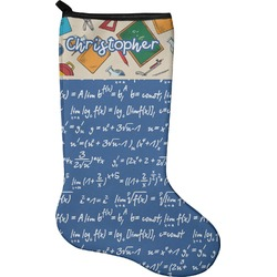 Math Lesson Christmas Stocking - Neoprene (Personalized)