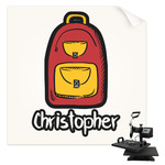 Math Lesson Sublimation Transfer (Personalized)