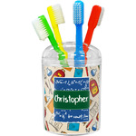 Math Lesson Toothbrush Holder (Personalized)