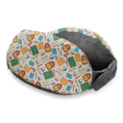 Math Lesson Travel Neck Pillow (Personalized)
