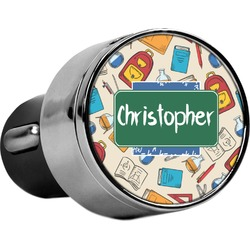 Math Lesson USB Car Charger (Personalized)