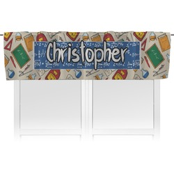 Math Lesson Valance (Personalized)
