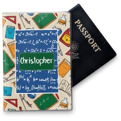 Math Lesson Vinyl Passport Holder (Personalized)