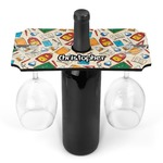 Math Lesson Wine Bottle & Glass Holder (Personalized)