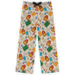 Math Lesson Womens Pajama Pants (Personalized)