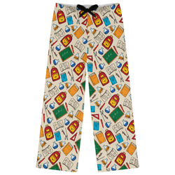 Math Lesson Womens Pajama Pants (Personalized)