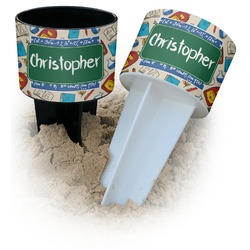 Math Lesson Beach Spiker Drink Holder (Personalized)
