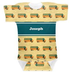 School Bus Baby Bodysuit (Personalized)