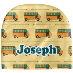 School Bus Baby Hat (Beanie) (Personalized)
