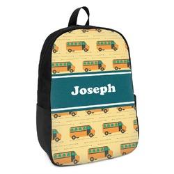 School Bus Kids Backpack (Personalized)