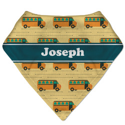 School Bus Bandana Bib (Personalized)