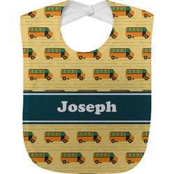 School Bus Baby Bib (Personalized)