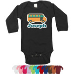 School Bus Long Sleeves Bodysuit - 12 Colors (Personalized)