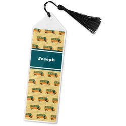 School Bus Book Mark w/Tassel (Personalized)