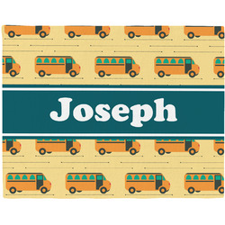 School Bus Placemat (Fabric) (Personalized)