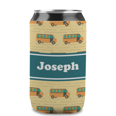 School Bus Can Sleeve (12 oz) (Personalized)