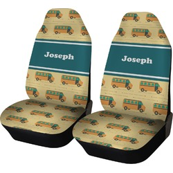 School Bus Car Seat Covers (Set of Two) (Personalized)