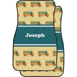 School Bus Car Floor Mats (Front Seat) (Personalized)
