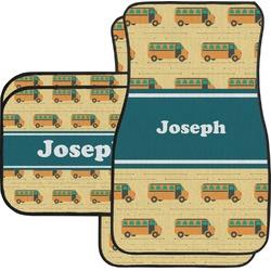 School Bus Car Floor Mats (Personalized)