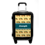 School Bus Carry On Hard Shell Suitcase (Personalized)