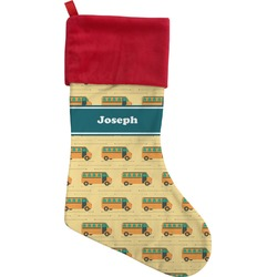 School Bus Christmas Stocking (Personalized)