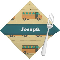 School Bus Napkins (Set of 4) (Personalized)