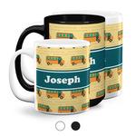 School Bus Coffee Mugs (Personalized)