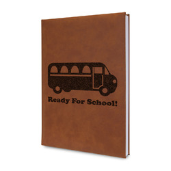 School Bus Leatherette Journal (Personalized)