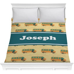 School Bus Comforter (Personalized)