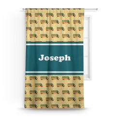 School Bus Curtain (Personalized)