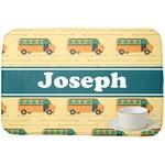 School Bus Dish Drying Mat (Personalized)