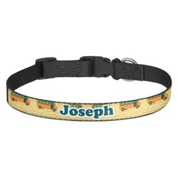 School Bus Dog Collar (Personalized)
