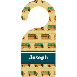 School Bus Door Hanger (Personalized)