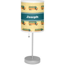 "School Bus 7"" Drum Lamp with Shade Polyester (Personalized)"