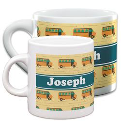 School Bus Espresso Cups (Personalized)