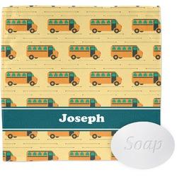 School Bus Wash Cloth (Personalized)